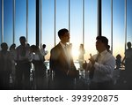 business collaboration... | Shutterstock . vector #393920875