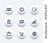 finance icons  wallet  money ...   Shutterstock .eps vector #393921337