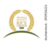 rice. vector illustration. | Shutterstock .eps vector #393926221