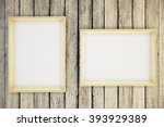 Two Blank Picture Frames...