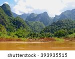 Panorama Of A Typical Laotian...