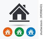 house icon. house flat symbol....