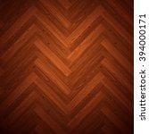 herringbone parquet dark floor... | Shutterstock .eps vector #394000171