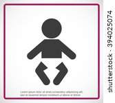 baby icon | Shutterstock .eps vector #394025074