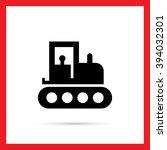 tractor icon   Shutterstock .eps vector #394032301