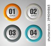 information infographic... | Shutterstock .eps vector #394044865
