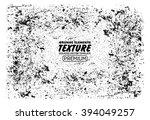 grunge texture vector background | Shutterstock .eps vector #394049257