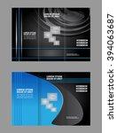tri fold brochure  | Shutterstock .eps vector #394063687