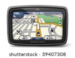 generic gps navigation system... | Shutterstock . vector #39407308