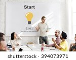 start begin activation begin... | Shutterstock . vector #394073971