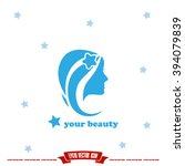 woman icon | Shutterstock .eps vector #394079839