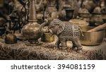 Detailed Close Up Elephant...
