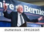 U.s. Senator Bernie Sanders...