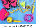 pair of sport shoes  fresh... | Shutterstock . vector #394126519