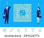 flat design vector concept... | Shutterstock .eps vector #394126771