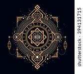 Illustration Of Mystic Golden...