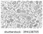 sketchy vector hand drawn...   Shutterstock .eps vector #394138705