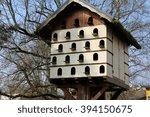A Wooden Bird Condo  Large Bir...