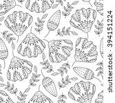 abstract vector seamless... | Shutterstock .eps vector #394151224