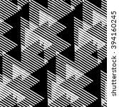 vector geometric seamless... | Shutterstock .eps vector #394160245