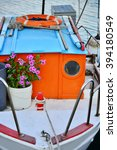 Small photo of Marina port parking boats yachts holiday Greek Islands Aigina