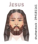 Face Of Jesus Christ  Low Poly...