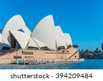 sydney   march 8  close up view ... | Shutterstock . vector #394209484