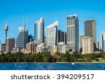 sydney   march 8  view of the... | Shutterstock . vector #394209517
