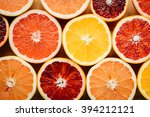 flat lay  overhead view of... | Shutterstock . vector #394212121