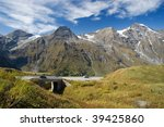 grosslockner   high alpine road ... | Shutterstock . vector #39425860