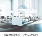 loft office beautiful light... | Shutterstock . vector #394269184