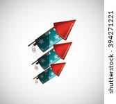firework icon design | Shutterstock .eps vector #394271221