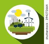 save energy icon design | Shutterstock .eps vector #394272664