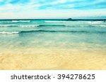 beach landscape | Shutterstock . vector #394278625