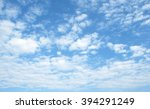 the vast blue sky and clouds sky | Shutterstock . vector #394291249
