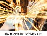 spot welding industrial... | Shutterstock . vector #394293649
