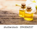 bottle of aroma essential oil... | Shutterstock . vector #394306537