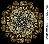 Mandala Background Art Tribal...