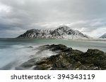 Skagsanden Beach In The Lofote...