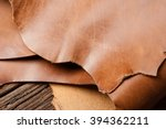 leather working  closeup... | Shutterstock . vector #394362211