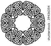 circle frame | Shutterstock .eps vector #39436354