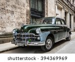 havana  cuba   march 02  2016 ... | Shutterstock . vector #394369969