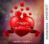 happy mother's day | Shutterstock . vector #394397077
