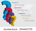 3d vector infographic template...