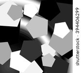 black and white background with ... | Shutterstock . vector #394406299