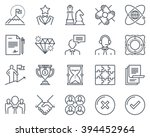 business icon set suitable for... | Shutterstock .eps vector #394452964