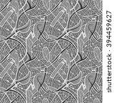 seamless abstract vector... | Shutterstock .eps vector #394459627
