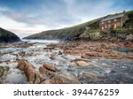 Sunrise At Port Quin On The...