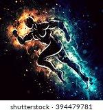 running athlete   Shutterstock . vector #394479781
