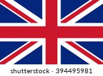 great britain flag english... | Shutterstock .eps vector #394495981
